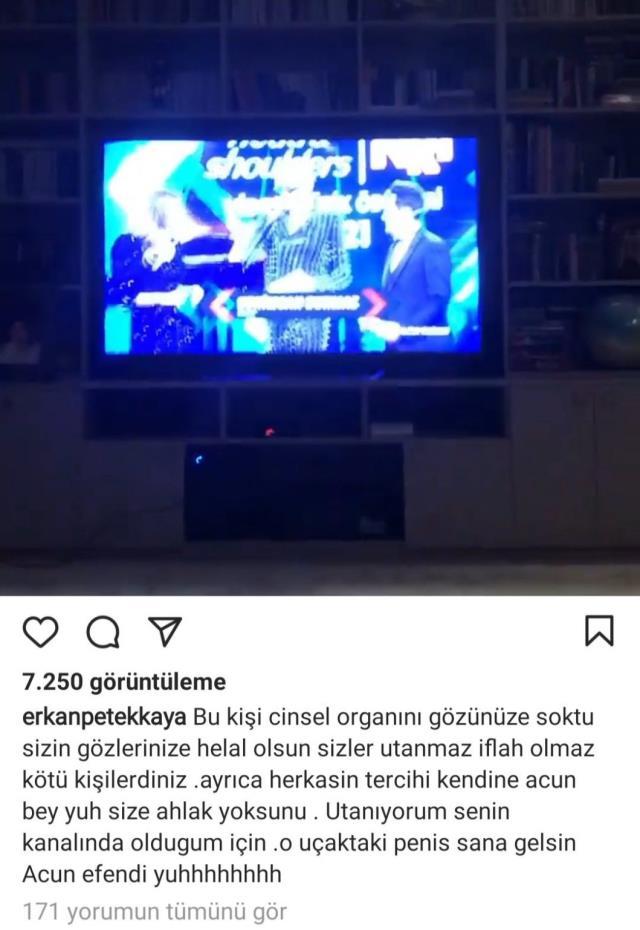 erkan petekkaya tv8