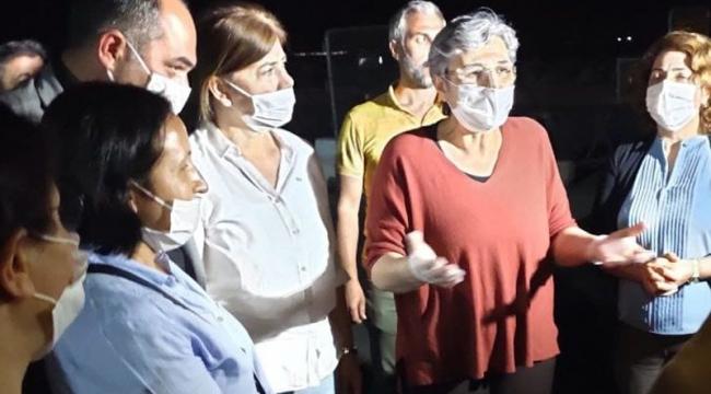 Vekilliği düşen HDP'li Leyla Güven'e tahliye