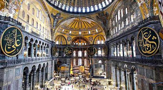 Ayasofya'daki fresk ve mozaikler namaza engel mi? Din İşleri Yüksek Kurulu açıkladı!