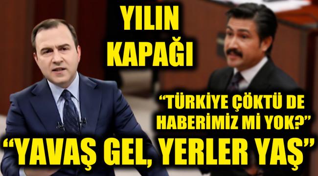 Selçuk Tepeli yılın kapağını yaptı! Cahit Özkan'a 'yeniden kuruluş anayasası' tepkisi