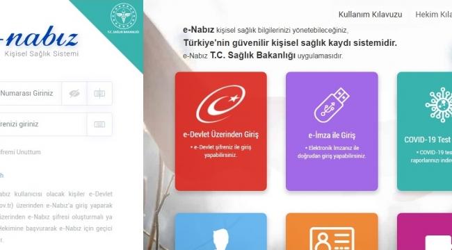 e-Nabız sisteminden öğretmenlere otomatik randevu tanımı yapıldı