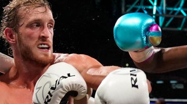 Logan Paul efsane boksörün yumrukları karşısında 'Bana mısın' demedi