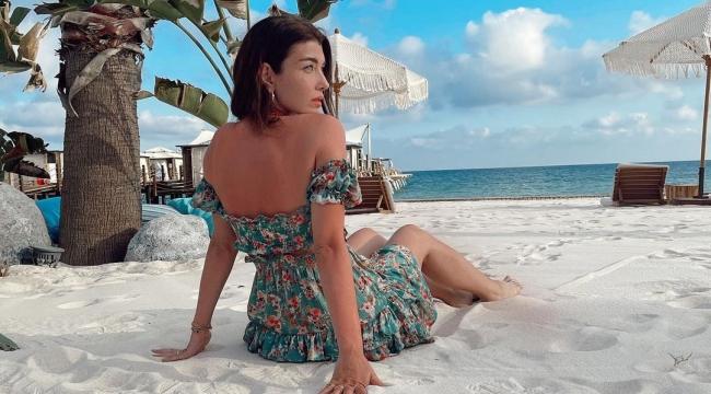 Sırlar Dünyası'nın Aslıhan Güner'i plajda sere serpe görüntülendi