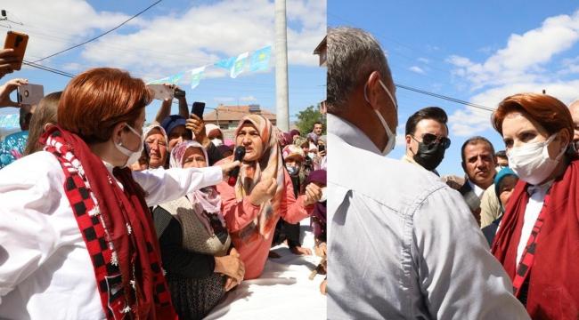 Adatepe'de halkın isyanı Meral Akşener'i şaşırttı
