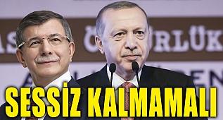 Ahmet Davutoğlu'ndan Erdoğan'a Bahçeli için çağrı